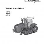 Challenger MT738, MT740, MT743 Tractor Service Manual