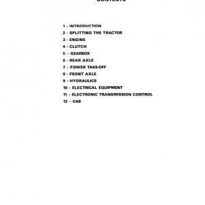AGCO Allis 9735, 9745 Tractors Service Manual