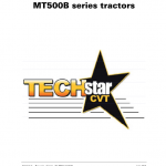 Challenger MT525B, MT535B, MT545B, MT555B Tractor Workshop Manual