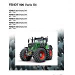 Fendt 927, 930, 933, 936, 939 Tier 4 Tractor Service Manual
