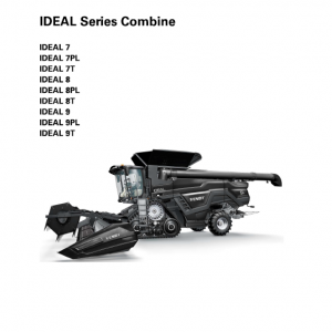 Fendt Ideal Combine Series Service Manual