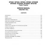 Challenger MT835B, MT845B, MT855B, MT865B, MT875B Tractor Service Manual