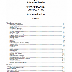 Willmar 4565 Wrangler Loader Service Manual