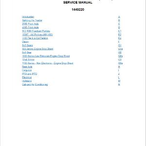 Massey Ferguson 451, 471, 481, 491, 492 Tractor Service Manual