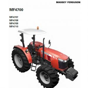 Massey Ferguson 4707, 4708, 4709, 4710 Tractor Service Manual