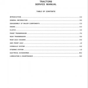 Massey Ferguson 1233 Tractor Service Manual