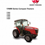 Massey Ferguson 1735M, 1740M, 1750M, 17555M, 1760M Tractor Manual