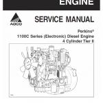 Perkins 1100C Series Diesel Engine Manual