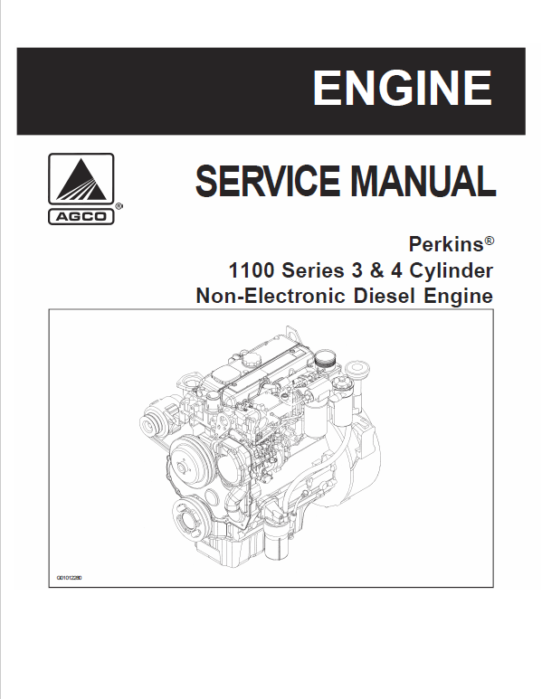 Perkins 1100 Series Diesel Engine Manual