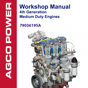 AGCO 4th Generation Medium Duty Engines Manual
