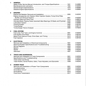 Case 880D Excavator Service Manual