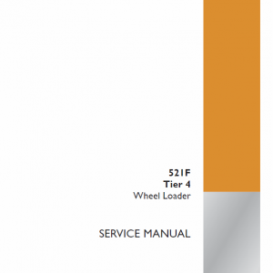 Case 521F Wheel Loader Service Manual