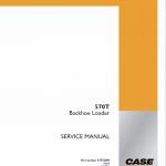Case 570T Backhoe Loader Service Manual