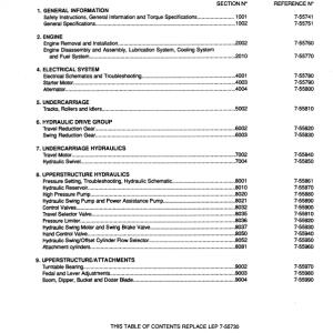 Case CK62 Excavator Service Manual