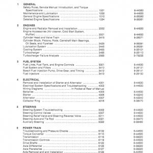Case 1085B, 1086B Excavator Service Manual