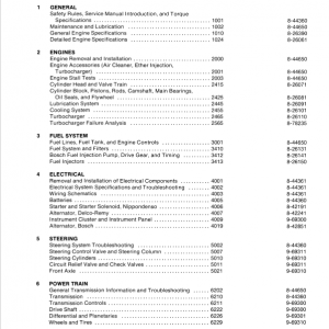 Case 780C Loader Backhoe Service Manual