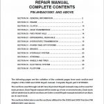 Case DX25, DX29, DX33 Tractor Service Manual