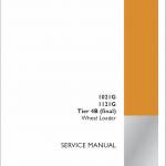 Case 1021G, 1121G Wheel Loader Service Manual