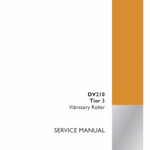 Case DV210 Vibratory Roller Service Manual