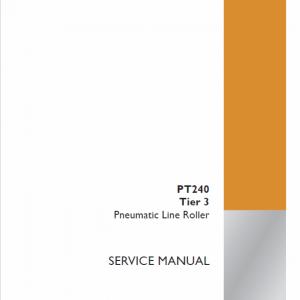 Case PT240 Line Roller Service Manual