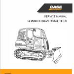 Case 650L Crawler Dozer Service Manual