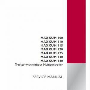 Case MXU100, MXU110, MXU115 Maxxum Tractor Service Manual