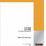 Case CX180D Crawler Excavator Service Manual