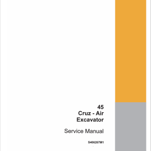 Drott Case 45 Cruz Air Excavator Service Manual
