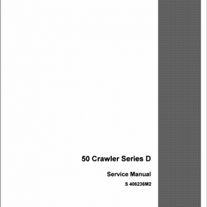 Drott Case 50 Crawler Excavator Series D Service Manual