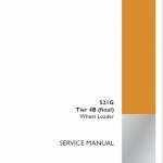 Case 521G Loader Service Manual