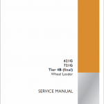 Case 621G, 721G Wheel Loader Service Manual