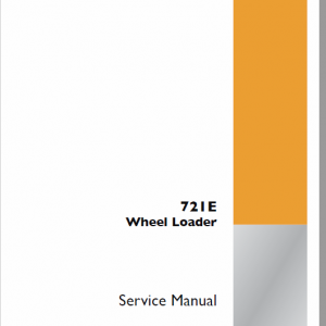Case 721E Wheel Loader Service Manual