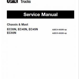 CAT EC35N, EC40N, EC45N, EC55N Forklift Lift Truck Service Manual