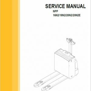 CAT NPP16N2, NPP18N2, NPP20N2, NPP20N2E Stacker Service Manual