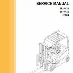 CAT EP25N, EP25CN, EP30N, EP30CN, EP35N Forklift Lift Truck Service Manual