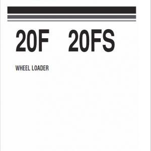 Komatsu 20F, 20FS Wheel Loader Service Manual