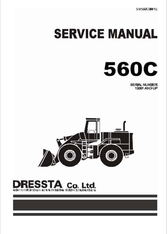 Komatsu Dressta 560C Wheel Loader Service Manual