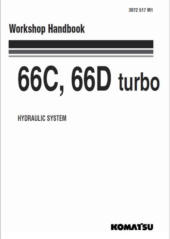 Komatsu 66C, 66D Turbo Wheel Loader Service Manual