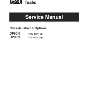 CAT DP80N, DP90N Forklift Lift Truck Service Manual