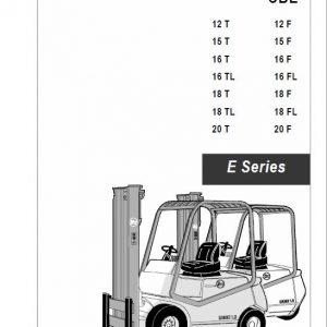 BT CBE 1.8T, CBE 1.8TL, CBE 2.0T E Series Forklift Service Manual