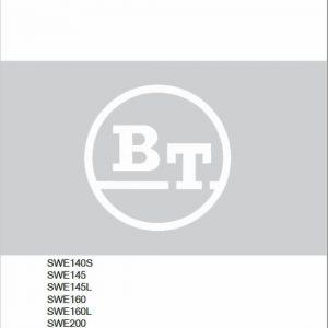 BT SWE140S, SWE145, SWE145L, SWE160, SWE160L, SWE200, SWE200L Manual