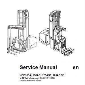 BT VCE150A, VCE150AC, VCE12ASF, VCE125ACSF, C15 Vector Truck Manual