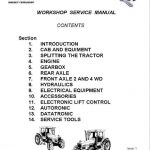 Massey Ferguson 3095, 3115, 3120, 3125, 3140 Tractor Service Manual