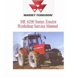 Massey Ferguson 4215, 4220, 4243, 4253, 4263 Tractor Service Manual