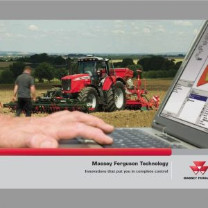 Massey Ferguson MF 372, MF 375, MF 383, MF 390 Tractor Service Manual