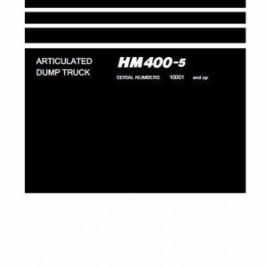 Komatsu HM400-5 Dump Truck Service Manual