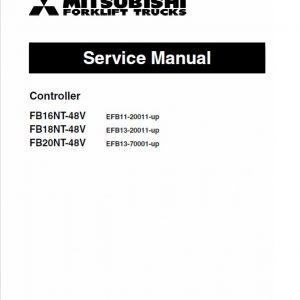 Mitsubishi FB16NT, FB18NT, FB20NT Forklift Lift Truck Service Manual
