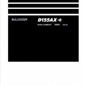 Komatsu D155AX-8 Dozer Service Manual