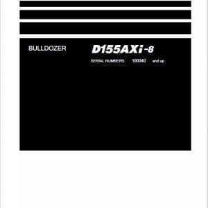 Komatsu DX155AXi-8 Dozer Service Manual