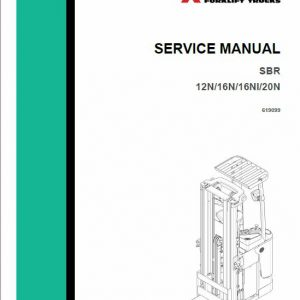 Mitsubishi SBR12N, SBR16N, SBR16Ni, SBR20N MassLift Service Manual